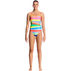 Funkita Tie Me Tight One Piece Swimsuit Women Pina Colada